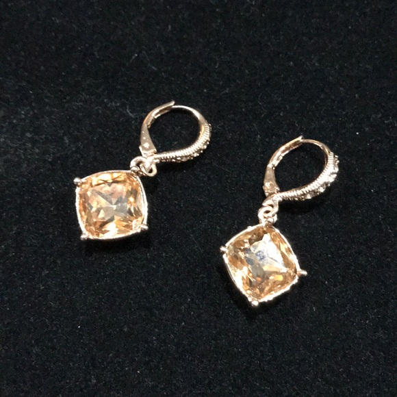 67acbef29 Givenchy Rose Gold Tone Crystal Drop Earrings. M_5ae675f346aa7ce3bd9a6ff1